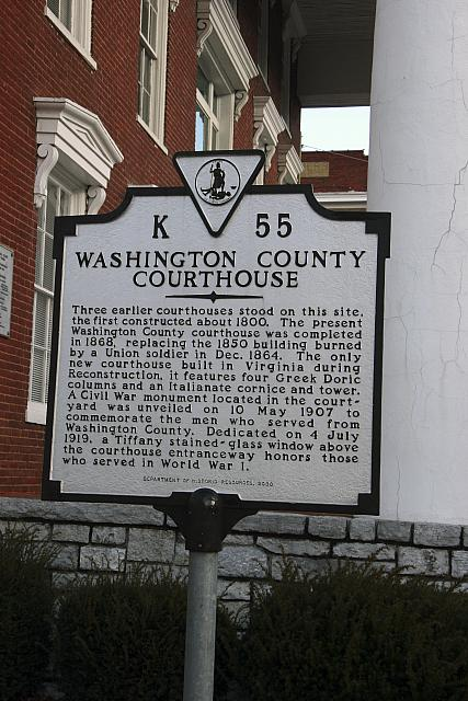 VA-K55 Washington County Courthouse