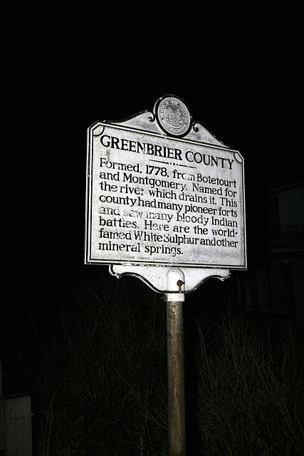 WV-007 Greenbrier County