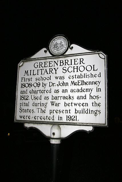 WV-011 Greenbrier Military School