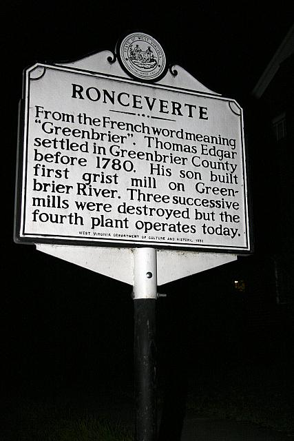 WV-Ronceverte
