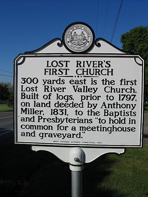 WV-019 Lost Rivers First Church