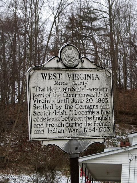 WV-034 West Virginia (Mercer County)