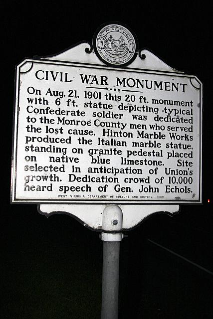 WV-043 Civil War Monument