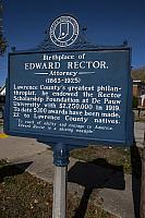 IN-LAW001 Birthplace of Edward Rector