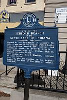 IN-LAW002 Site of the Bedford Branch of the State Bank of Indiana