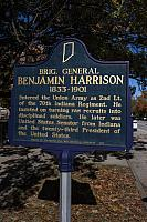 IN-49.1963.1 Brig. General Benjamin Harrison 1833-1901