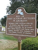 LA-029 SIte of First Acadian Settlers in Louisiana