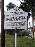 MD-032 Colonel William Norris (1820-1896)