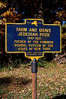 NY-018 Jedediah Peck Farm and Grave 1747-1821