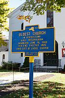 NY-023 Oldest Church in Cooperstown