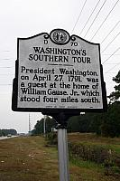 NC-D70 Washingtons Southern Tour
