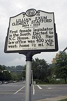 NC-P79 Lillian Exum Clement Stafford 1894-1925