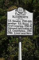 NC-D106 Timoth Bloodworth 1736-1814