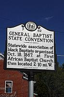 NC-F62 General Baptist State Convention