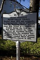 SC-10-25 Mount Pleasant Presbyterian Church