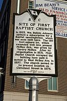 SC-23-20 Site of First Baptist Church