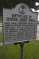 SC-40-25 Birthplace of General Maxcy Gregg