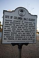 SC-40-8 Site of Columbia Male Academy