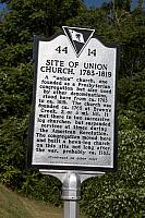 SC-44-14 Site of Union Church 1783-1819