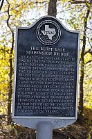 TX-441 The Bluff Dale Suspension Bridge