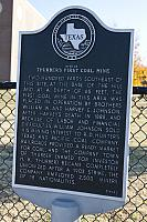 TX-4903 Site of Thurbers First Coal Mine