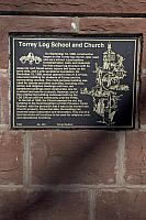 UT-494 Torrey Log School and Church