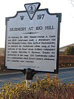 VA-W197 Skirmish at Rio Hill