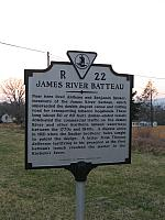 VA-R22 James River Batteau