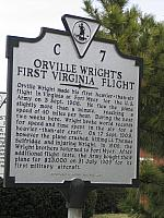VA-C7 Orville Wrights First Virginia Flight