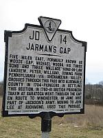 VA-JD14 Jarmans Gap