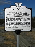 VA-D31 Roanoke Valley Baptist Association