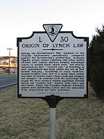 VA-L30 Origin of Lynch Law