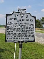 VA-EP8 Birthplace of Madison