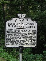 VA-V7 Berkeley Plantation or Harrisons Landing