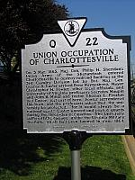 VA-Q22 Union Occupation of Charlottesville