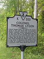 VA-K203 Colonel Thomas Lygon