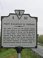 VA-S30 First Railroad in Virginia