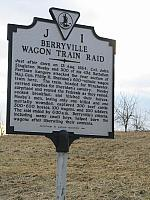 VA-J1 Berryville Wagon Train Raid