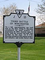 VA-J13 Third Battle of Winchester