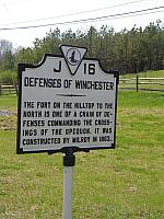 VA-J16 Defenses of Winchester