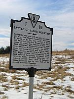 VA-F19 Battle of Cedar Mountain