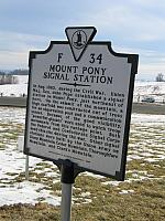 VA-F34 Mount Pony Signal Station