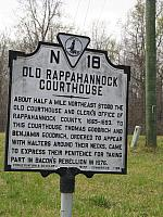VA-N18 Old Rappahannock Courthouse