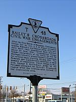 VA-T48 Baileys Crossroads Civil War Engagements