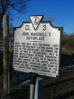VA-CL3 John Marshalls Birthplace