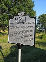 VA-FB2 Oak Hill John Marshalls Home