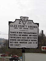 VA-Z211 Giles County Virginia