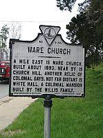 VA-NW2 Ware Church