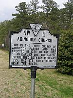 VA-NW5 Abington Church