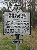 VA-NW8 Rosewell and Werowocomoco